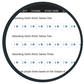 Absorbing God's Word Course