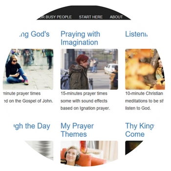 Membership pages of Discovering Prayer