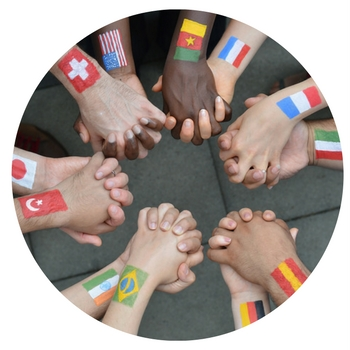Different-nationalities-hold-hands